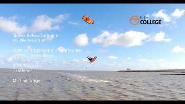 Sicher höher Springen lernen #6 Frontroll mit dem Kite